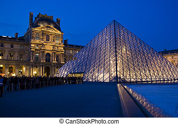 The Louvre Museum - Photo of The Louvre Museum in Paris,...