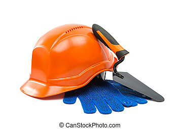 Safety helmet isolated on white background