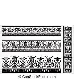 Vector Decorative Border Set