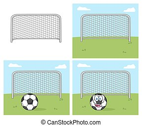 Football Gate Collection Set - Football Gate. Collection Set...