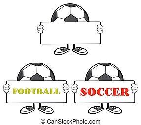 Soccer Ball Faceless Collection - 1