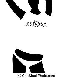 Woman t-shirt design