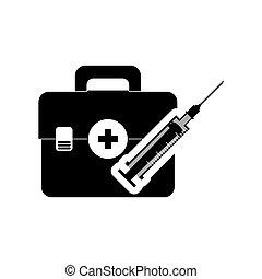 medical kit health care design - injection medical kit...