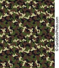 fashion camouflage pattern 2 - Seamless digital fashion...