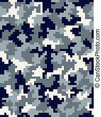 fashion camouflage pattern 3 - Seamless digital fashion...