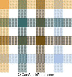 Colored check plaid seamless fabric texture