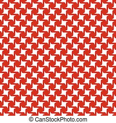 Red white abstract seamless pattern