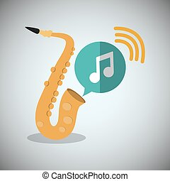 saxophone music sound instrument