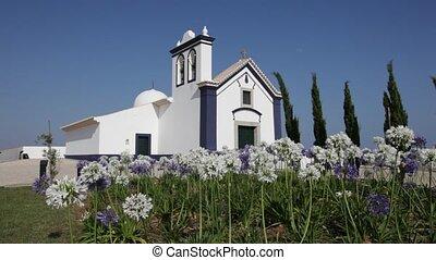 Little chapel in Algarve, Portugal
