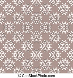 Flowers on gray-brown background.