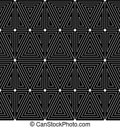 White pattern on a black background.