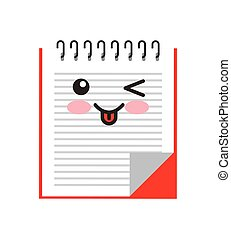 book character kawaii isolated icon vector illustration...