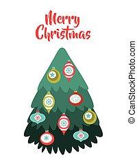 tree pine happy merry christmas