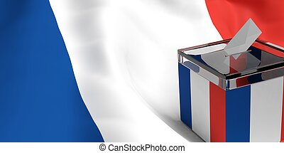 caja, interpretación, papeleta,  3D