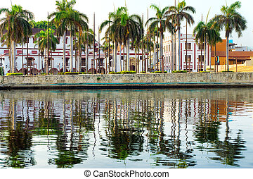 Colonial Architecture and Water - Colonial buildings...