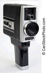 8 mm film Camera - 8 mm movie film camera made in the 1960s...