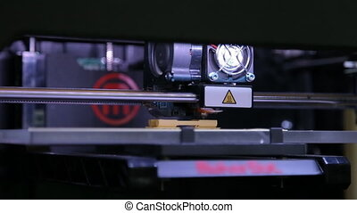 3D printing process,  3D plastic printer