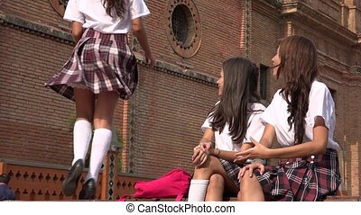 Student School Girl Dancing