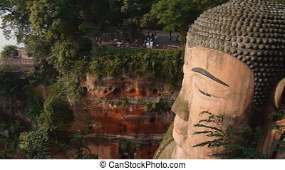 Leshan. Largest Buddha in the World