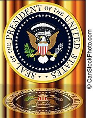 Presidential Seal Reflection