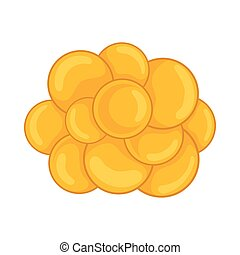 Group of viruses icon, cartoon style - Group of viruses icon...