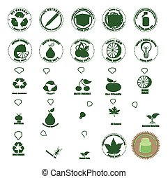 Earth Friendly Icons
