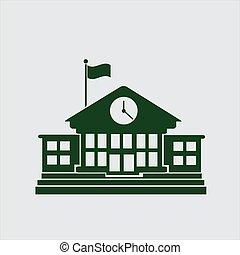 school house icons