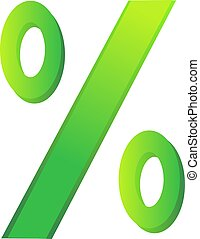 image of a percentage sign