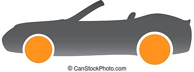 image of a convertible car
