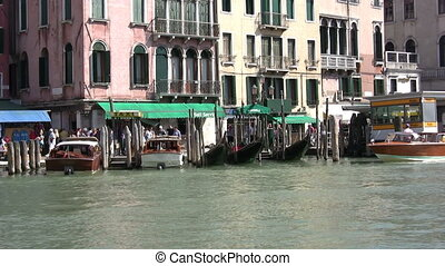 Gran Canal, Venice - View in a sunny day