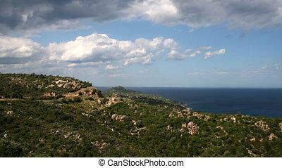 Mediterranean Sea - Time lapse