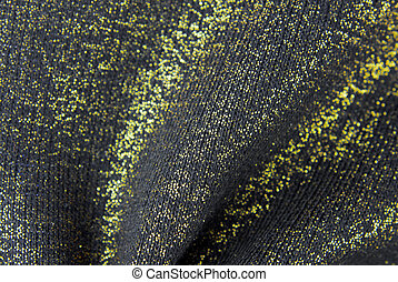 golden black fabric texture