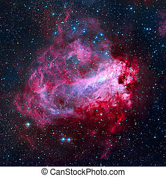 The Omega Nebula - Swan Nebula in the constellation...