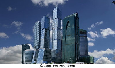 Skyscrapers--Moscow, Russia - Skyscrapers of the...
