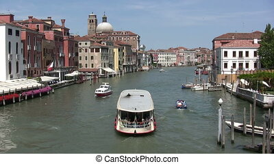 Grand Canal, Venice - View in a sunny day