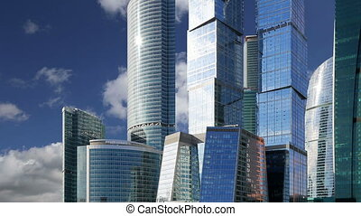 Skyscrapers (City), Moscow, Russia - Skyscrapers of the...