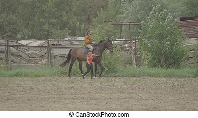 horseback riding lessons - riding training men in the sport...