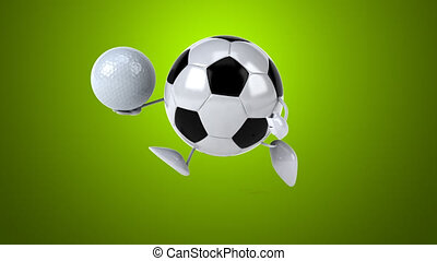 Football - Digital animation