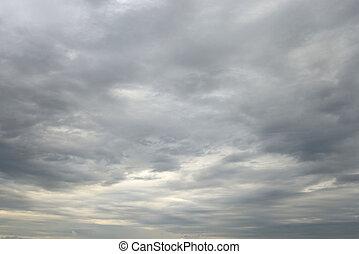 Dark, ominous rain clouds. - Dark, ominous rain clouds, may...