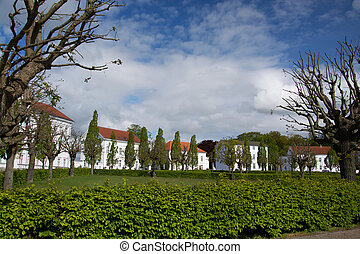 Putbus, Ruegen, Germany - Putbus is a town on the...