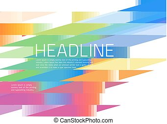 Abstract diagonal background colorful lines