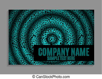 Beautiful Company Business Card Template Vector Illustration...