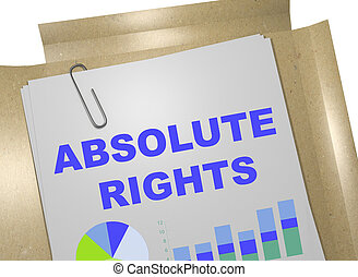 Absolute Rights concept