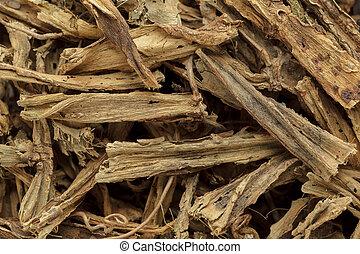 Organic dry hadjod stems. - Organic dry hadjod (Cissus...