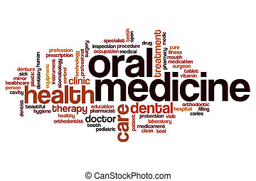 Medicine word cloud