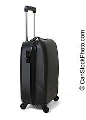 Luggage on White Background