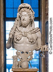 Emperor Commodus as Hercules