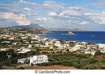 kefalos, grecja, wyspa,  Kos, zatoka