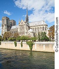 Notre Dame - Famous Notre Dame in Paris, France