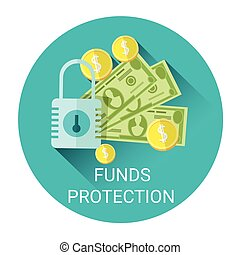 Fund Budget Protection Business Economy Icon